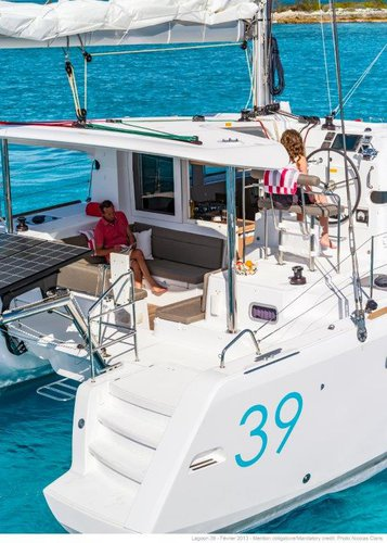 This 38.0' Lagoon-Bénéteau cand take up to 10 passengers around Dubrovnik region