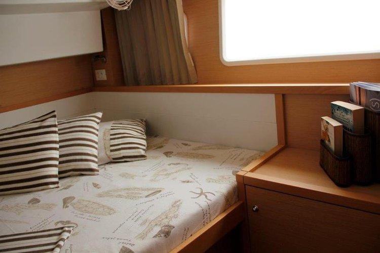 Boat for rent Lagoon-Bénéteau 38.0 feet in Marina Nava, Split, Croatia