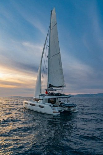 Catamaran boat rental in Marina Nava, Split, Croatia