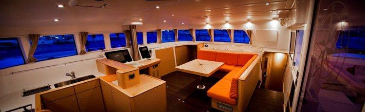 Catamaran boat rental in Marina Nava, Split, Croatia