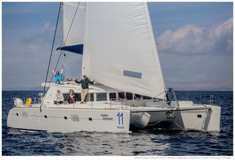 This 50.0' Lagoon-Bénéteau cand take up to 10 passengers around Split region