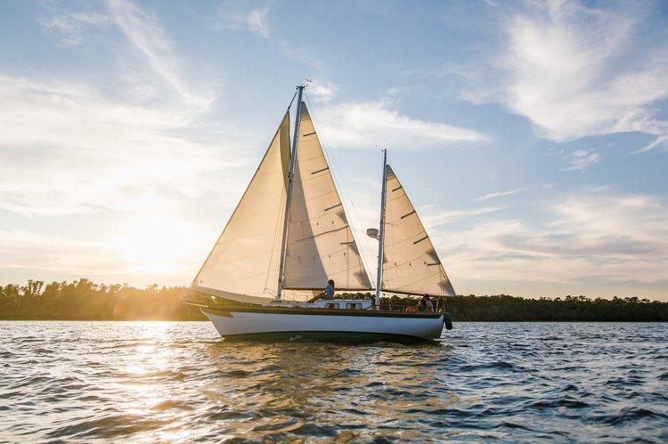 Sailing Vessel, a beautifully restored ketch