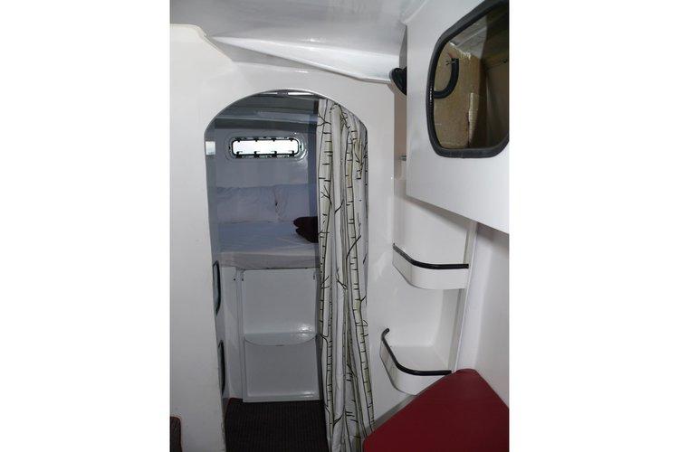Catamaran boat for rent in