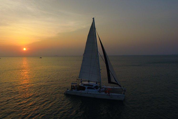 Catamaran boat for rent in Chonburi
