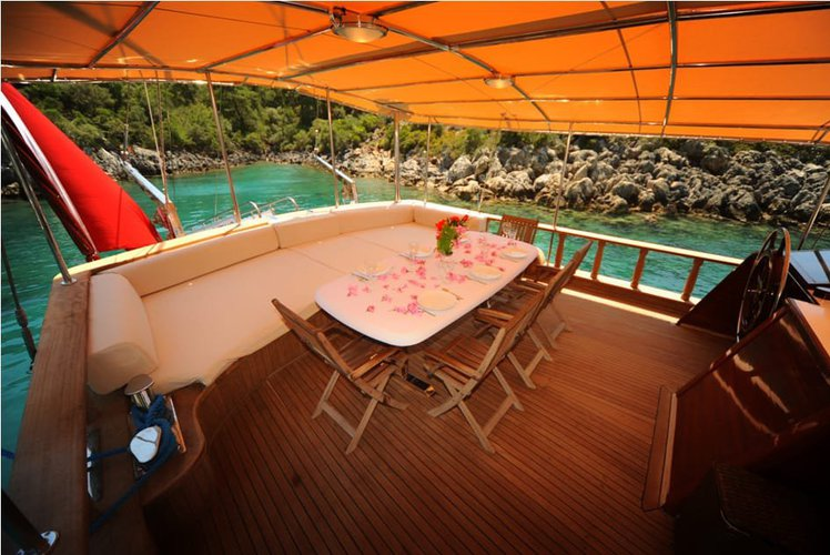 Gulet boat rental in fethiye ece saray marine, Turkey