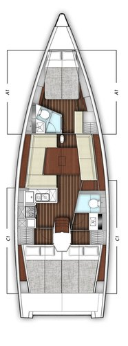 Boat for rent X-Yachts 42.0 feet in Martinis Marchi Marina, Croatia