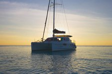 Sail the Maldives aboard this lovely catamaran