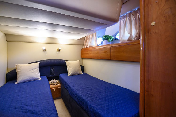 Motor yacht boat rental in Seiano, Italy