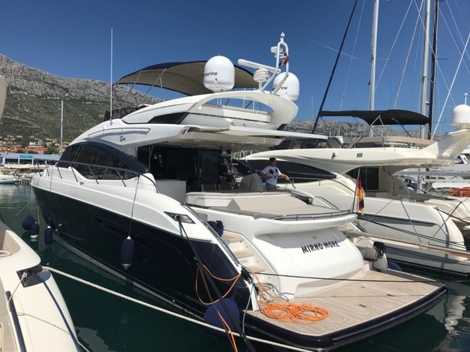 Experience Šibenik, HR on board this amazing Princess Yachts Princess S65