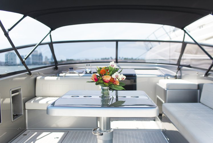 Motor yacht boat for rent in Key Biscayne