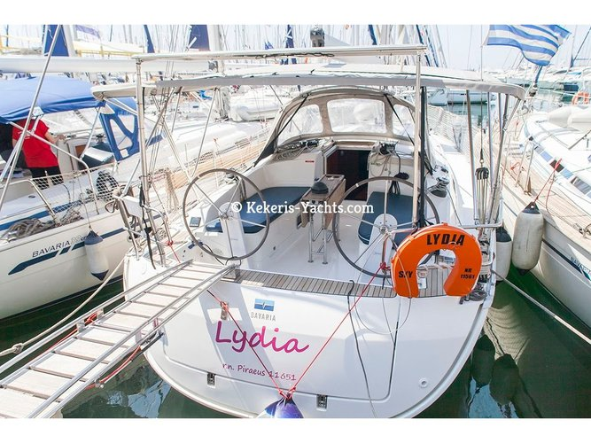 Enjoy luxury and comfort on this Kos sailboat charter