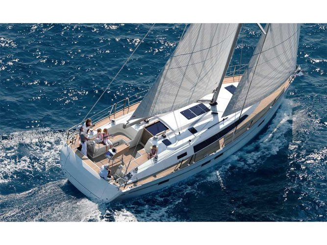 Explore Kos on this beautiful sailboat for rent