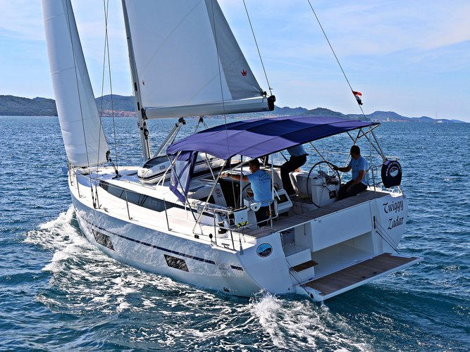 Hop aboard this amazing sailboat rental in Sukošan!