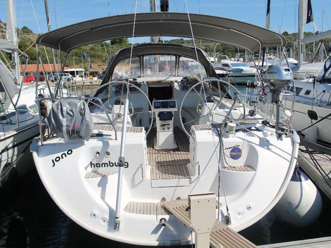 Unique experience on this beautiful Bavaria Yachtbau Bavaria 46 Cruiser Veritas edition