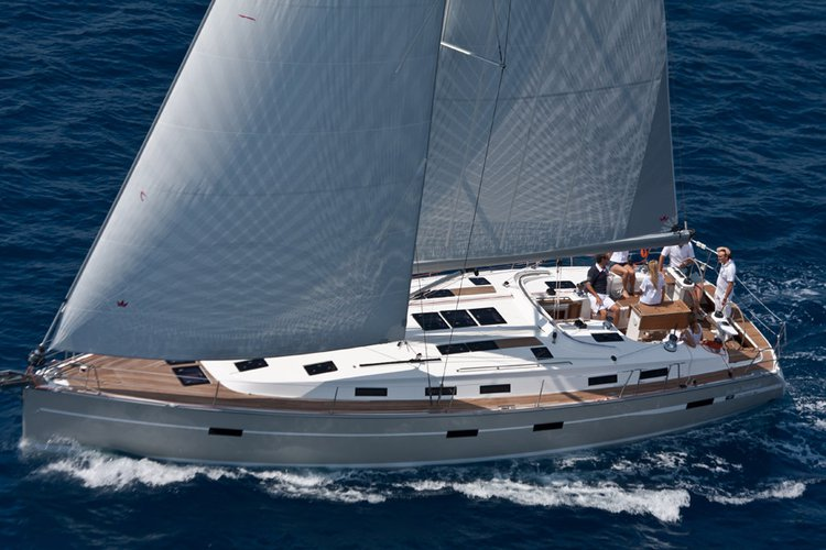 All you need to do is relax and have fun aboard the Bavaria Yachtbau Bavaria 50 BT '12