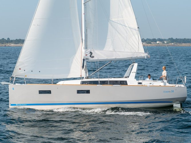 Experience Pomer on board this elegant sailboat