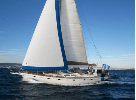 All you need to do is relax and have fun aboard this sailing yacht