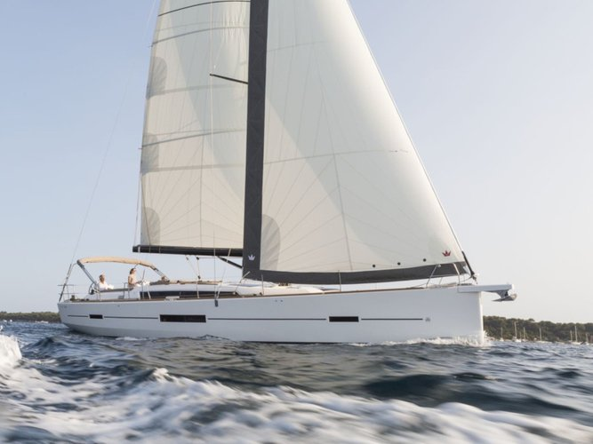 Sail Corfu, GR waters on a beautiful Dufour Yachts Dufour 520 Grand Large