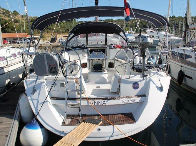 Enjoy Primošten, HR to the fullest on our comfortable Jeanneau Sun Odyssey 49i