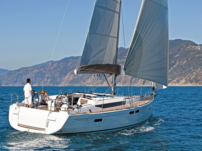 Enjoy luxury and comfort on this Palma de Mallorca sailboat charter