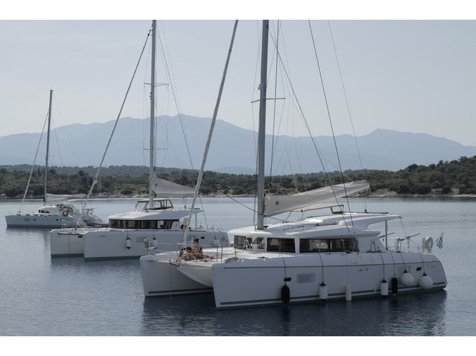 Sail Porto Cheli, GR waters on a beautiful Lagoon Lagoon 421