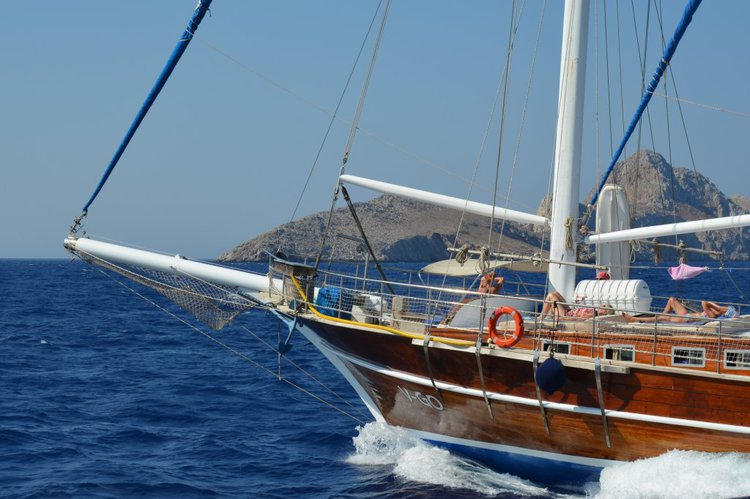 Boat for rent Wodden 85.0 feet in Rhodes Marina, Greece