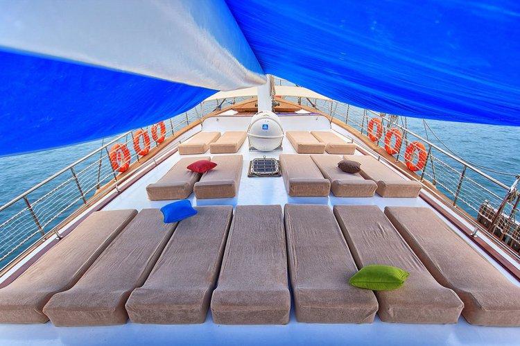 Gulet boat rental in Rhodes Marina, Greece