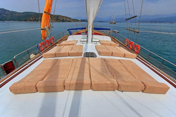 Gulet boat for rent in Rhodes