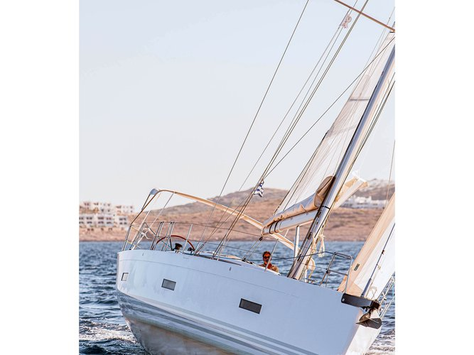Enjoy Lavrion, GR to the fullest on our comfortable X-Yachts X4-6 model 2019