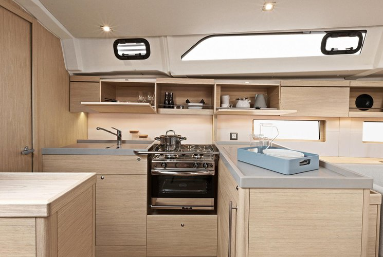 Discover Dodecanese surroundings on this Oceanis 46.1 beneteau boat