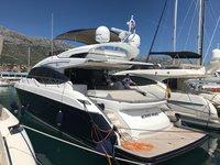 Experience Šibenik, HR on board this amazing Princess Yachts Princess S65