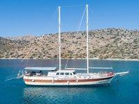 Jump aboard this beautiful  Gulet Koray Ege
