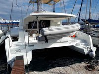 Charter this amazing catamaran in Lavrion