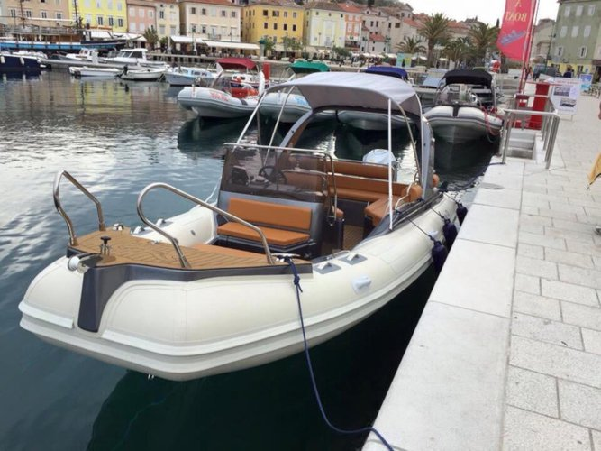 Charter this amazing  Shark BF 23 Sport in Zadar, HR