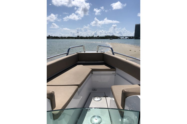 This 26.0' Axopar cand take up to 6 passengers around Miami Beach