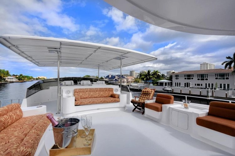 Discover Cabo San Lucas surroundings on this 108 Custom boat