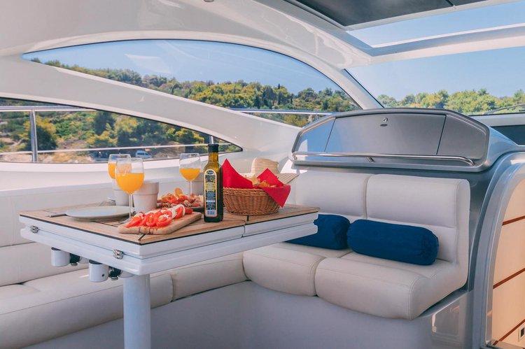 Motor yacht boat rental in Marina Kastela, Croatia