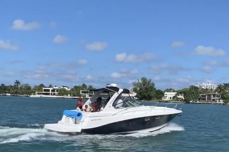 This 42.0' Four Winns cand take up to 12 passengers around Miami