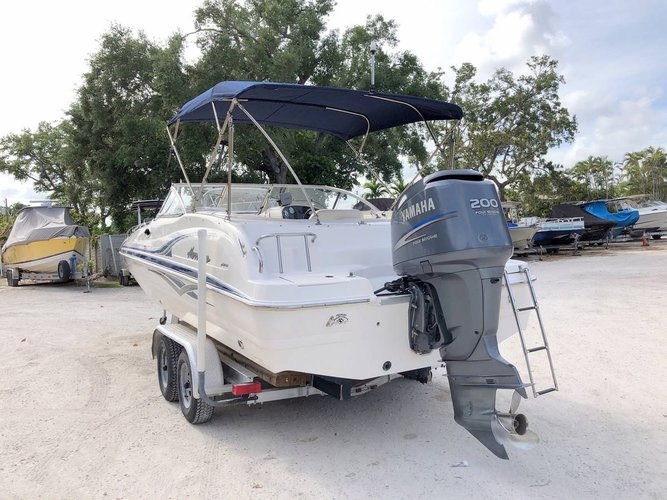 Deck boat boat rental in Point Pinellas Boat Ramp, FL
