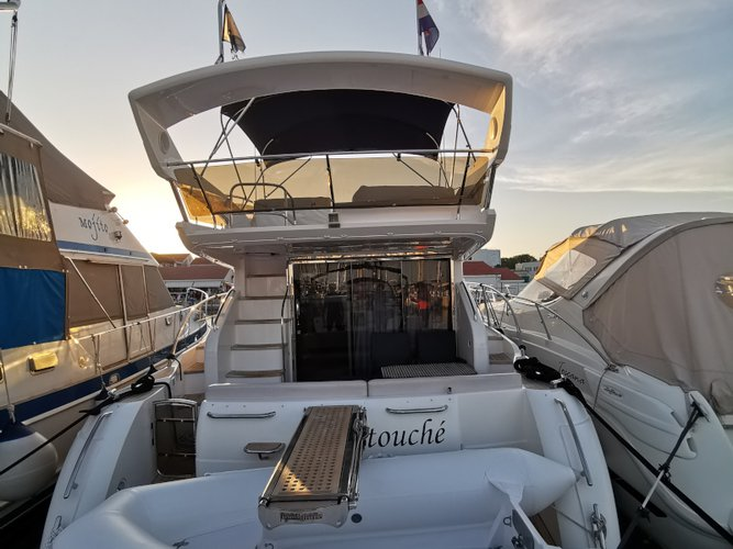 Get on the water and enjoy Podstrana in style on our Princess Yachts Princess 42