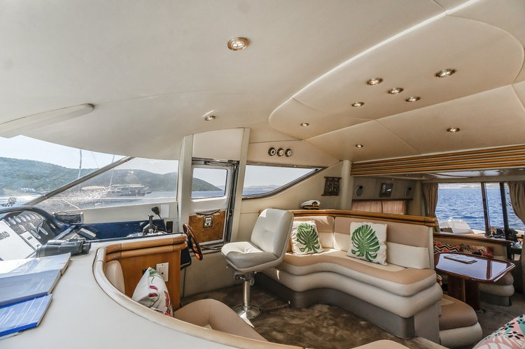 Sunseeker boat for rent in Bodrum
