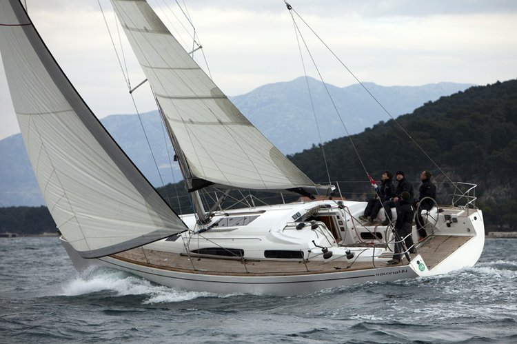 Sail Split region, HR waters on a beautiful AD Boats Salona 44