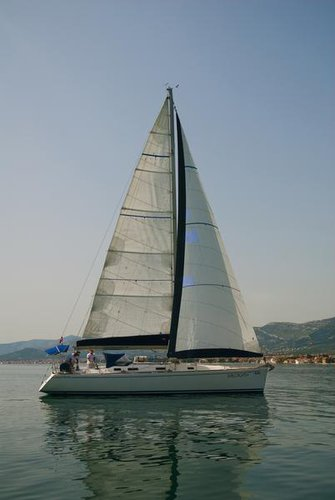 This 44.0' AD Boats cand take up to 9 passengers around Split region