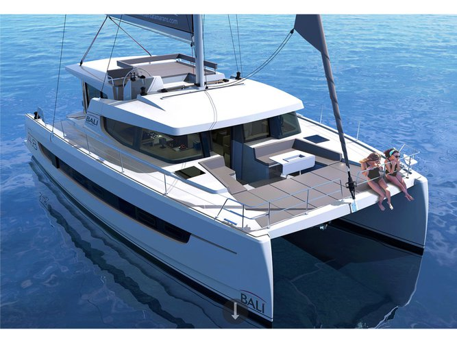 Take this Bali Catamarans Bali 4.8 Terra for a spin!
