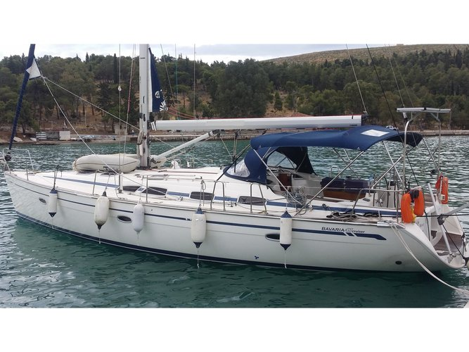 Hop aboard this amazing sailboat rental in Rhodes!
