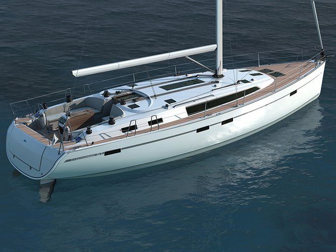 Jump aboard this beautiful Bavaria Yachtbau Bavaria Cruiser 46 (8+2 berths)