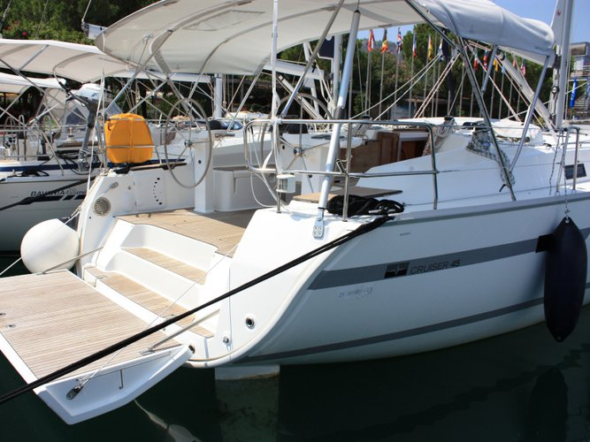 Discover Fethiye in style boating on this sailboat rental