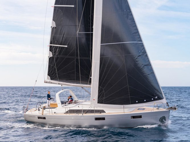 Sail Fethiye, TR waters on a beautiful Beneteau Oceanis 41.1