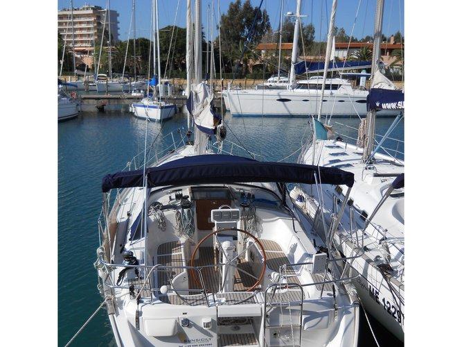 Experience Furnari, IT on board this amazing Beneteau Oceanis 423 Exclusive