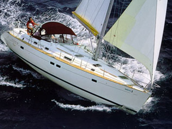 Sail the beautiful waters of Punat, Krk on this cozy Beneteau Oceanis 411
